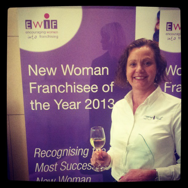 Teresa Bowers wins at the 2013 EWIF Awards