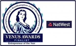 Southampton Venus Awards 2013 - Entrepreneur of the Year