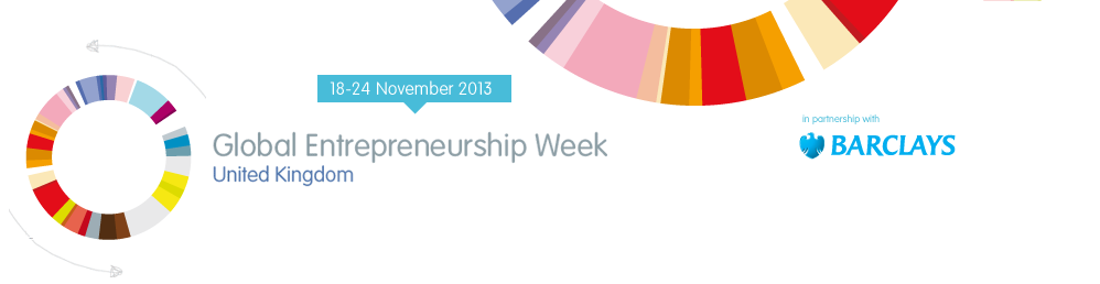 Global Entrepreneurship Week 2013 Banner