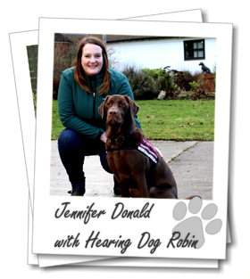 Wagging Tails Glasgow Franchisee Jennifer Donald with her dogs Foxy and Monty