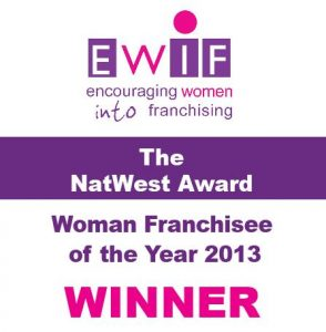 2013 EWIF Franchisee of the Year, Teresa Bowers