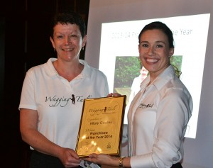 Hilary Coates wins Franchisee of the Year
