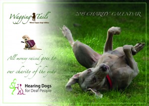 Wagging Tails 2015 Charity Calendar Front Cover