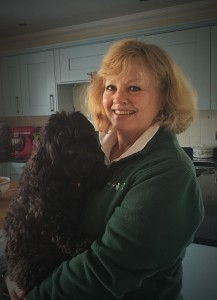 Wagging Tails Portsmouth Franchisee Rosemary Gooch and Coco