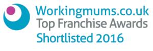 Workingmums.co.uk Top Franchise Awards Shortlisted 2016